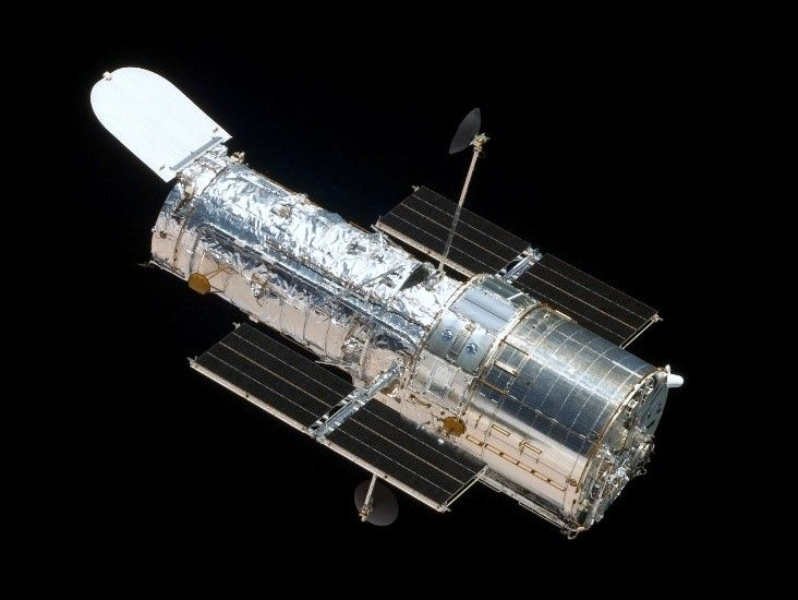 Hubble Telescope gathering data from far ends of galaxy