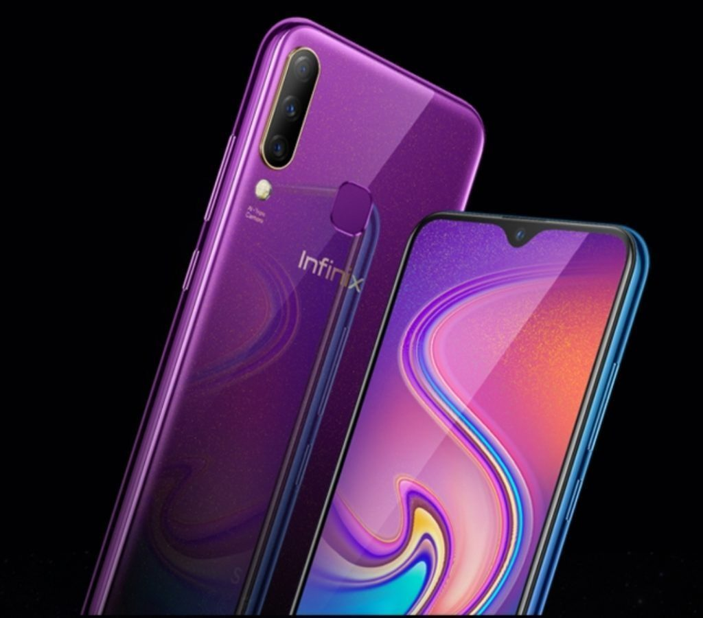 Infinix S4 twilight Purple