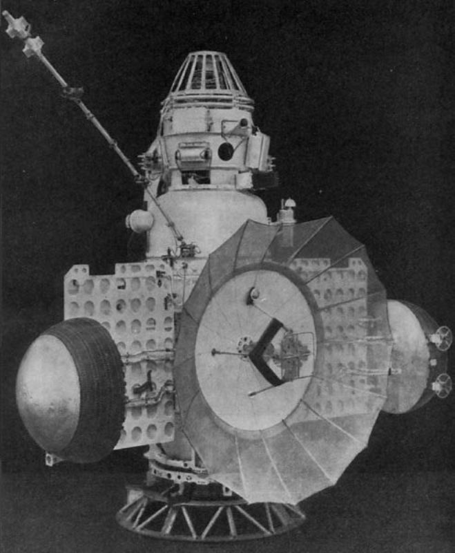 An old image of Zond 3 Spacecraft