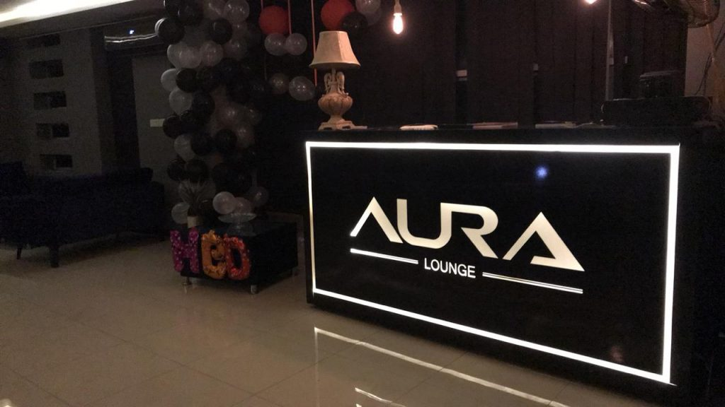 Aura Lounge |  Place to visit in Islamabad | BLurbgeek