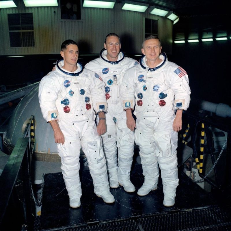 Crew of Appllo 8 (Mission to Moon)