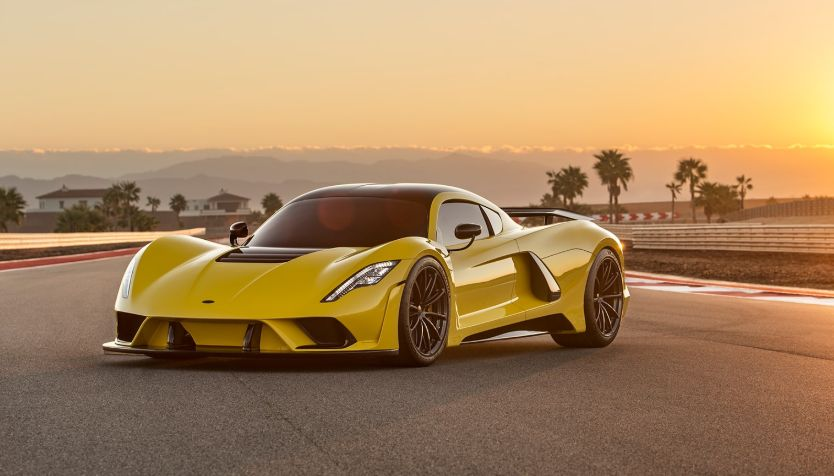 Hennessey Venom F5 (Top 5 Sports Cars)