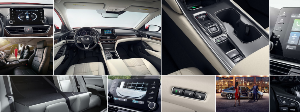 Honda Accord 2020 interior