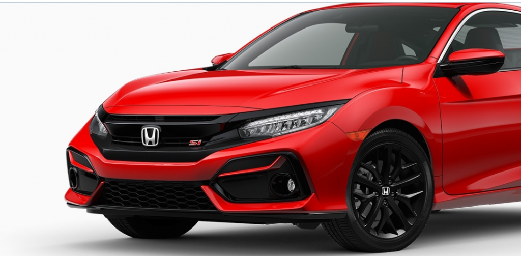 Honda Civic Si Coupe 2020 Exterior view