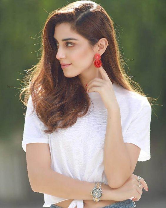 Maya Ali in white shirt   Posted by: Blurbgeek