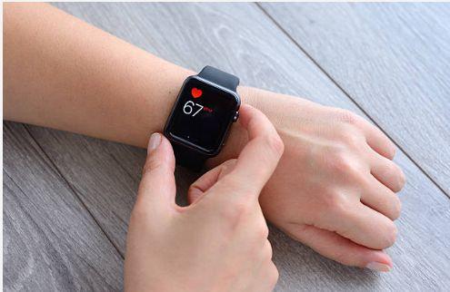 Person wearing Smart Watch