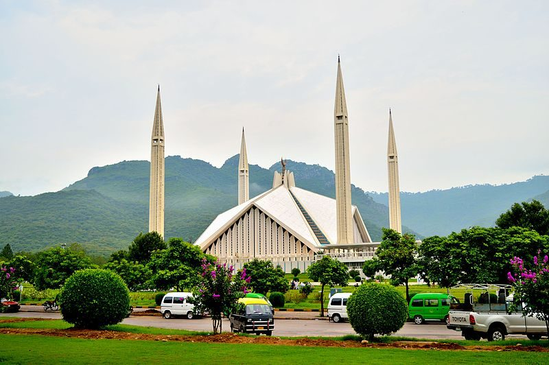 Shah Faisal Mosque  is one of the top places to visit in Islamabad | Blurbgeek