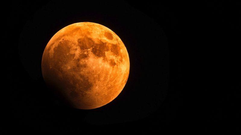 Sun Light Effect on Moon