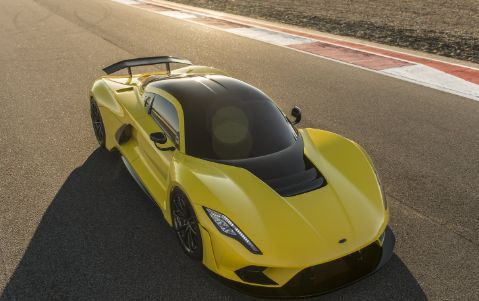 Top View of Hennessey Venom F5