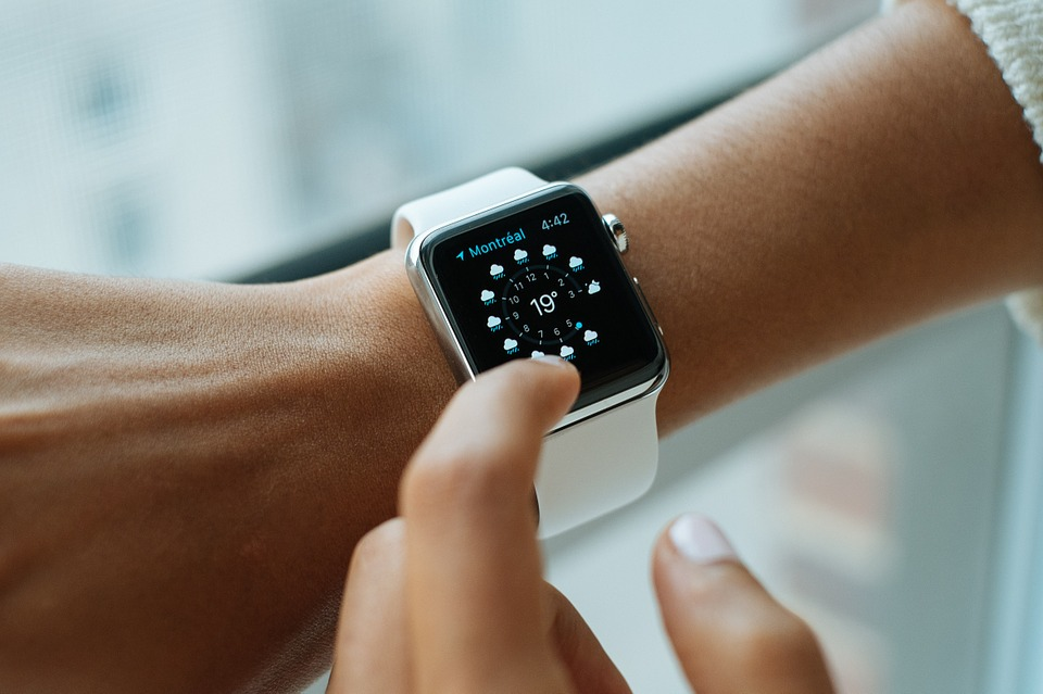 Weather Details on Smart Watch