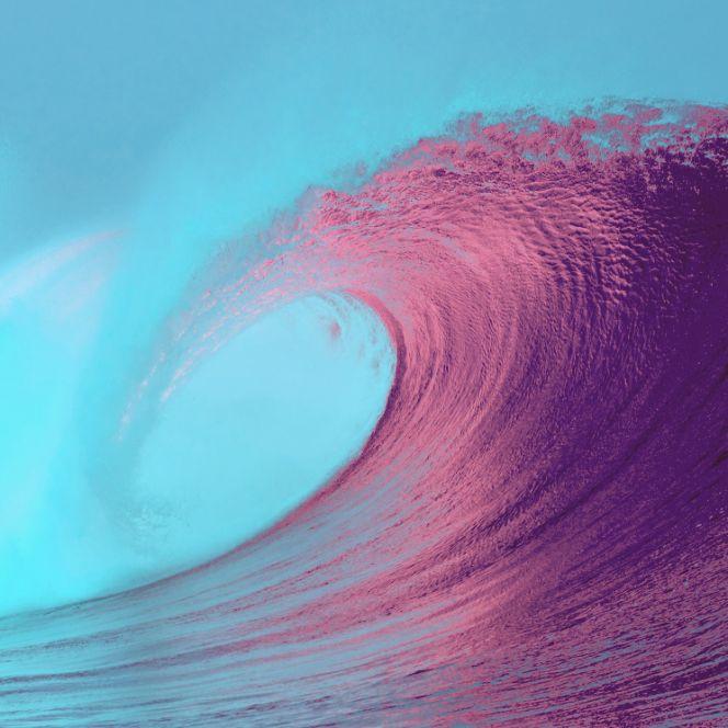 Animated Art of sea wave - Stress Relief Activities | Blurbgeek