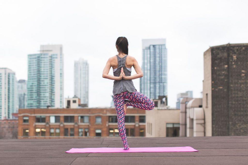 A girl going yoga - Stress Relief Activities | Blurbgeek