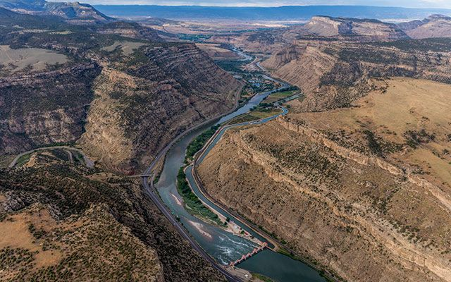A Mesmerizing view of Colorado River - Arizona - United States