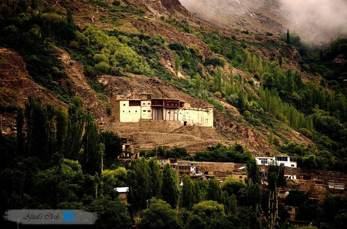 An Eternal View of 800 Years old Baltit Fort - Hunza Valley