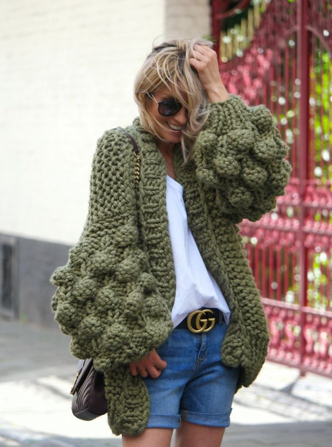 Chunky knit sweater | Strange Fashion
