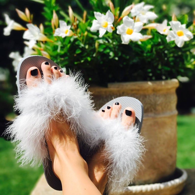 Faux Fur Sandals | Freaky Fashion