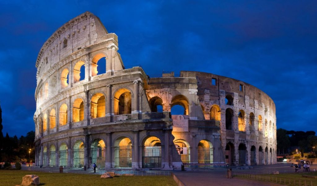 Flavian Amphitheatre - Rome - Top 10 beautiful places to visit around the World