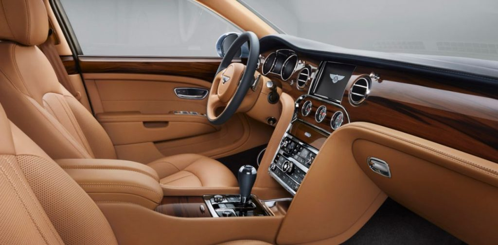Front Seating of Bentley Muslane - Luxurious Cars of 2019