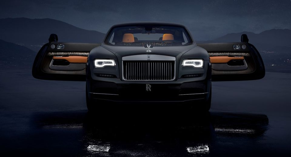 Front view of The Rolls-Royce Wraith Luminary | Luxury Cars of the year