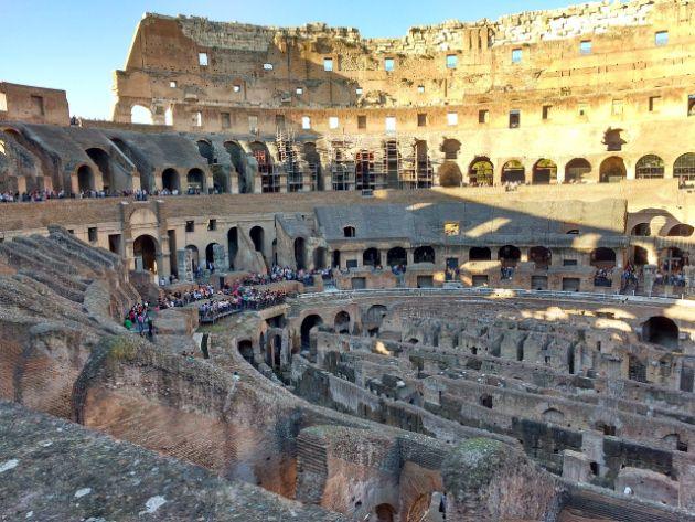 Inner view of Colosseum - Rome