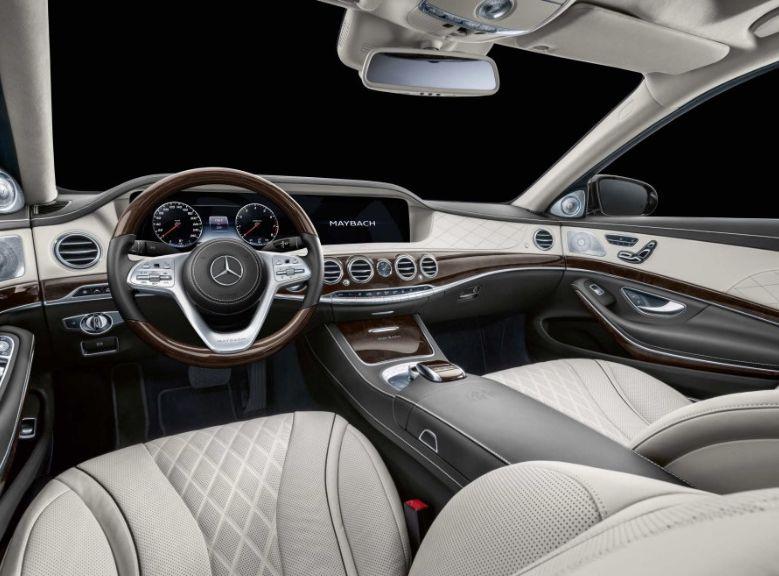 Interior of Mercedes-Maybach S 650 Pullman
