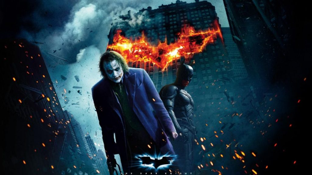 The Dark Knight |  #4 in Top 10 rated movies of all time  | Blurbgeek