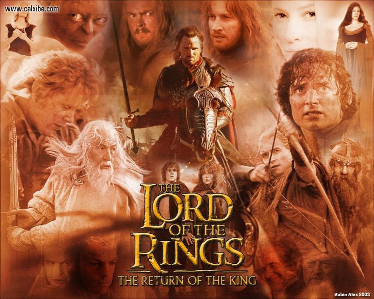 The Lord of the Rings: The Return of the King |  #7 in Top 10 rated movies of all time  | Blurbgeek