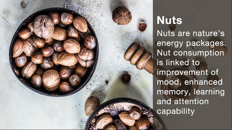Benefits of Eating Nuts Before Examination - Blurbgeek