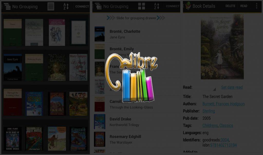 Calibre Best Ebook Android Application APK - Blurbgeek