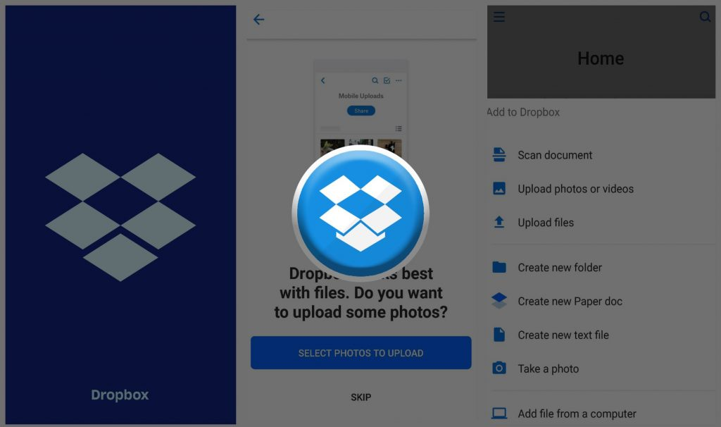 Dropbox Best Cloud Storage and Sync Android App - Blurbgeek