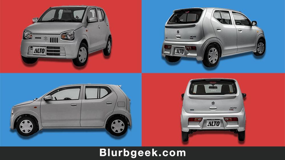 SUZUKI ALTO 2019 - Economical Cars in Pakistan - Blurbgeek