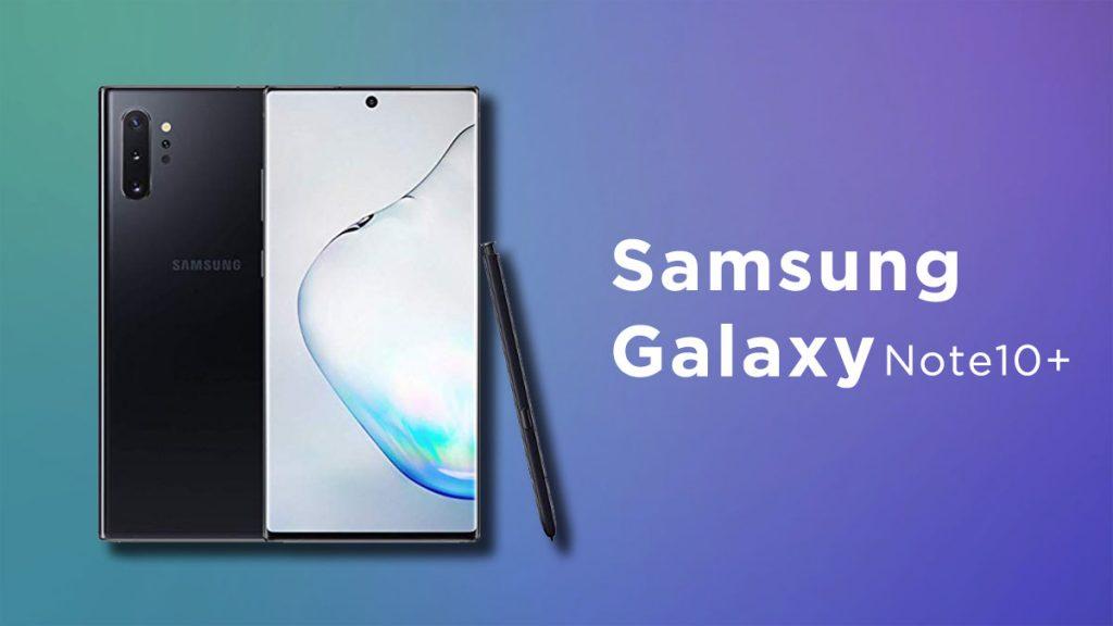 Samsung Galaxy Note 10+ Plus - Samsung Phone to Buy in 2020 - Blurbgeek