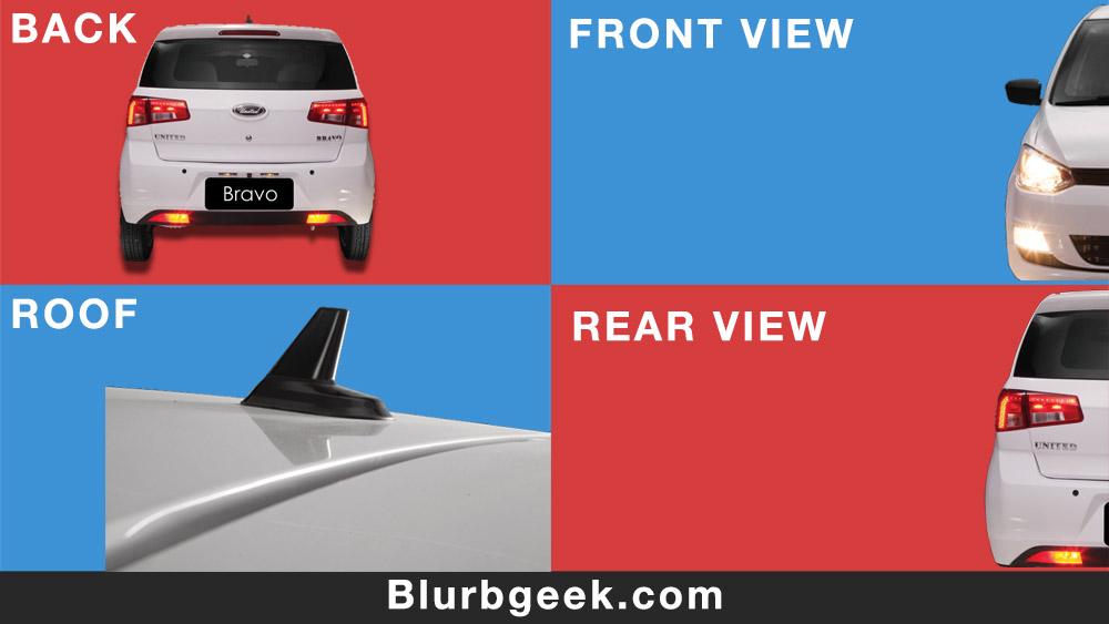 United Bravo 2020 - Economical Cars in Pakistan - Blurbgeek