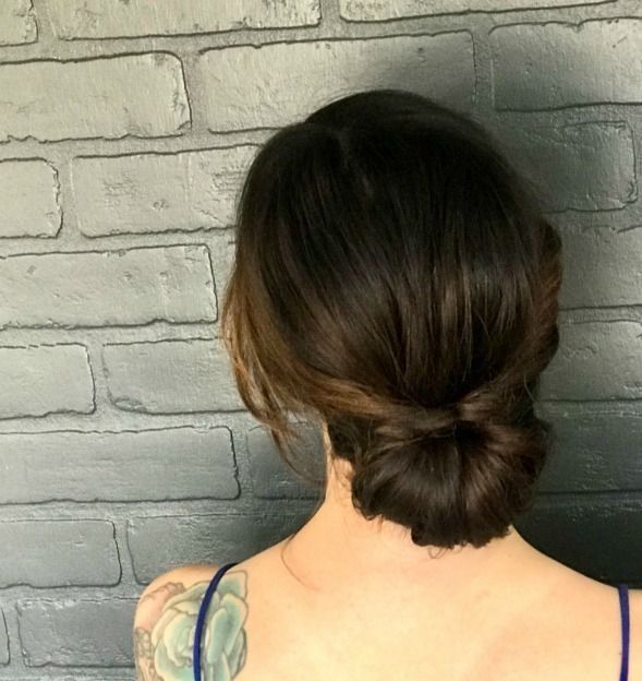 10 Minute Fancy Up Do For Long Hairs