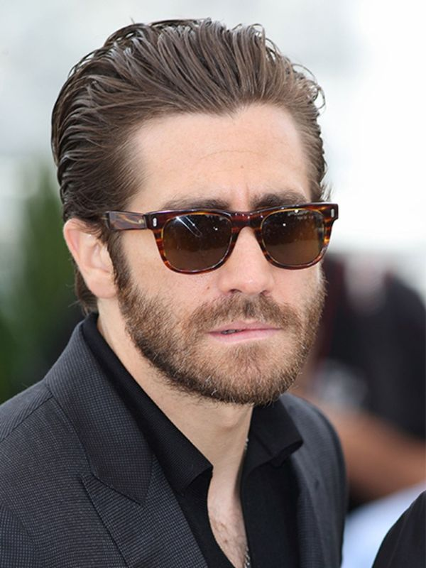 Classic Combed Back Style Long Hairs - Hair styling for men