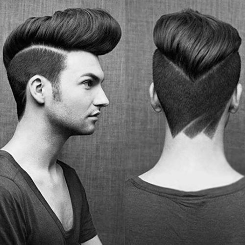 Classic Pompadour For Long Hairs - Man's Hairstyles