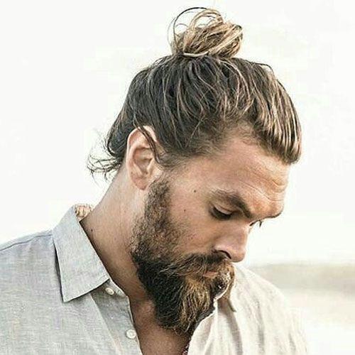 Man's Bun For Long Hairs - Hairstyles for men