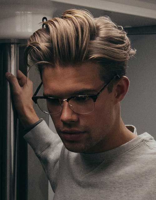 Short Curly Quiff Made From Long Hairs - Man Hairs Styling