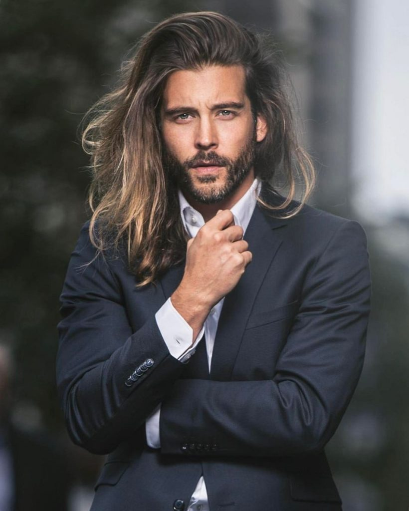 Side Part Hairs For Long Hairs - Cool Men Hairstyles