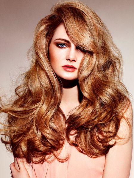 Voluminous Curls For Long Hairs