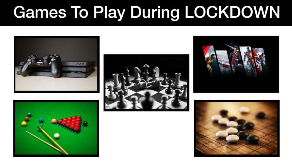 Activities to Do in Lockdown   Blurbgeek