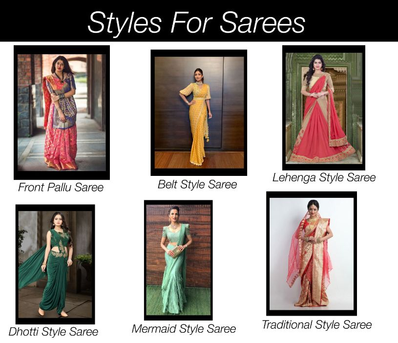 Different-Styles-To-Drape-Sarees | Blurbgeek
