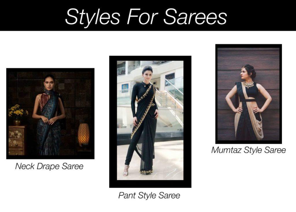 Elegant-Styles-For-Saree | Blurbgeek