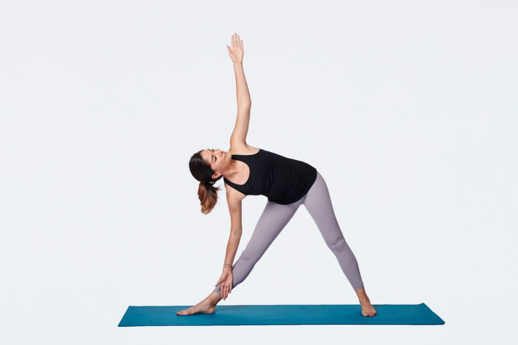 Triangle Pose - weight loss
